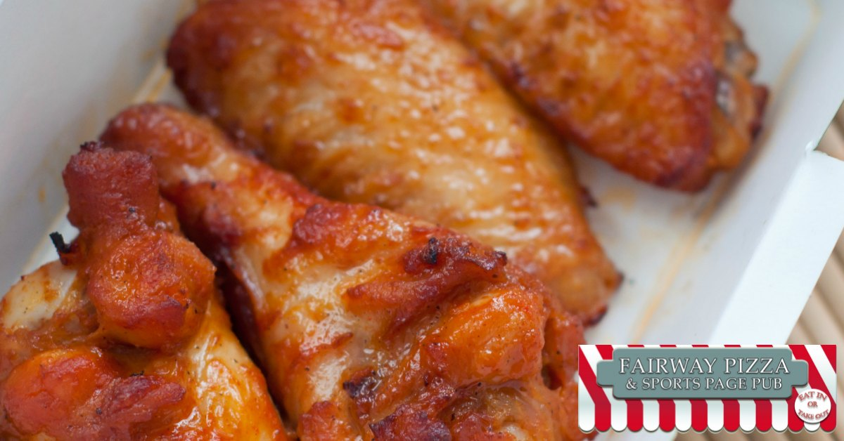 Chicken Wing Delivery by Fairway Pizza in Palm Harbor