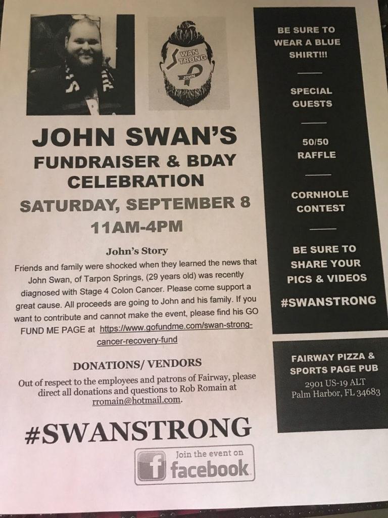 John Swan Fundraiser